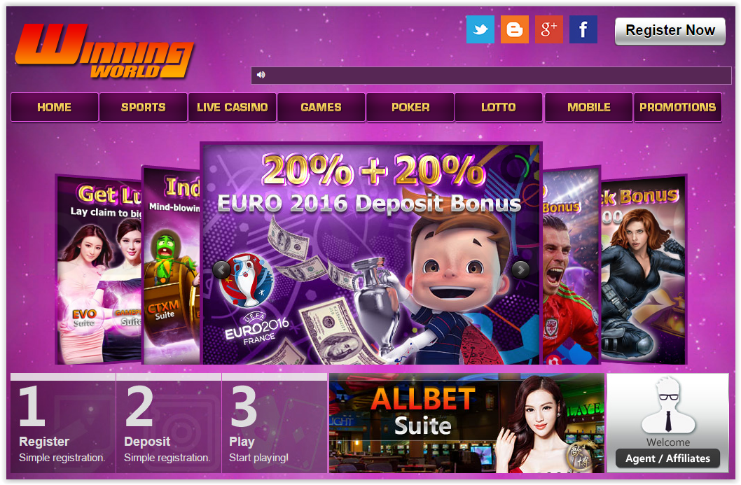 top winning online casinos