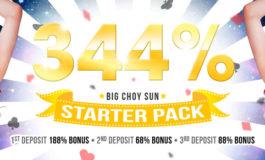 344% BIGCHOYSUN STARTER PACK