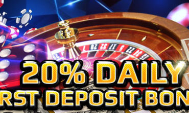 20% Daily First Deposit Bonus - CasinoJR