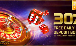30% DAILY ONLINE CASINO BONUS- VEGAS9CLUB