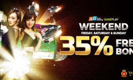 35% Weekend Special Bonus from Vegas9club