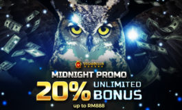 Midnight Promo 20% Unlimited Bonus