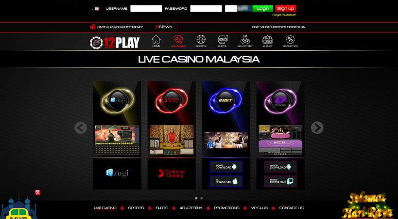 Play Live Casino at Our Top Casinos | malaysia Casino Com