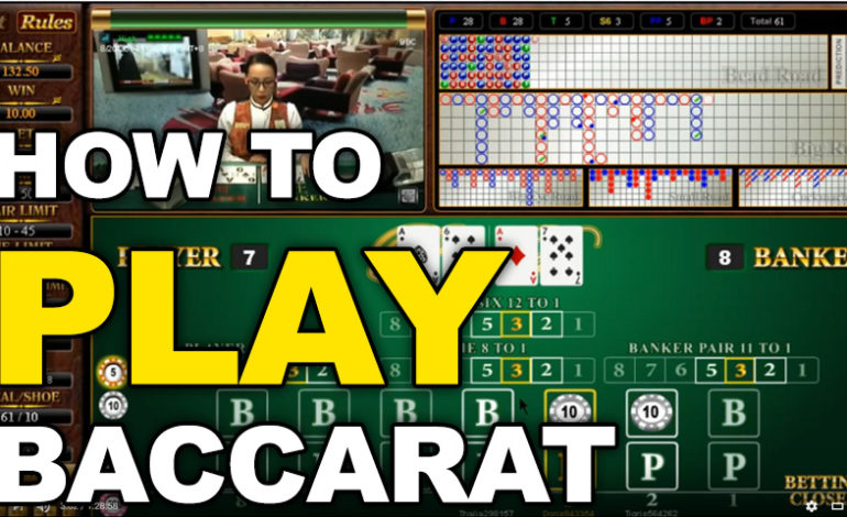 Quickly Master Baccarat and find The Best Baccarat Online Casinos With This Useful Guide