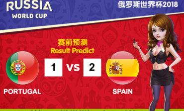 WORLD CUP PREDICT: PORTUGAL VS SPAIN