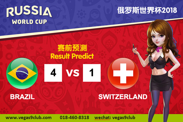 WORLD CUP PREDICT: BRAZIL VS SWITZERLAND