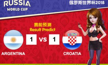 WORLD CUP PREDICT: ARGENTINA VS CROATIA