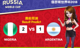 WORLD CUP PREDICT: NIGERIA VS ARGENTINA