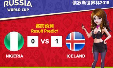 WORLD CUP PREDICT: NIGERIA VS ICELAND