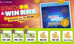 Scratch & Win Free Credit Event